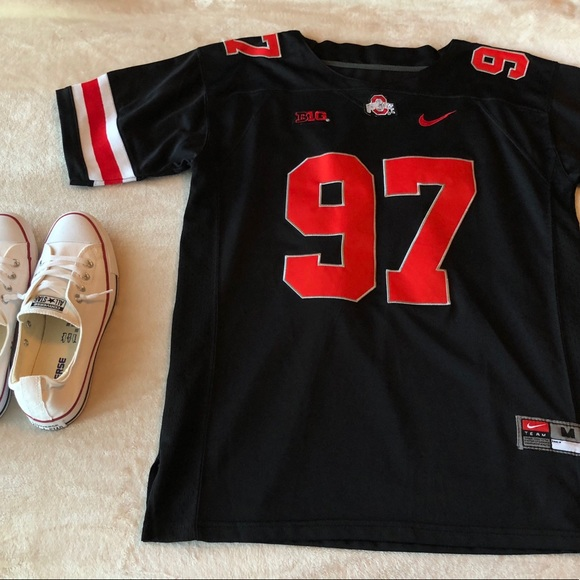 super popular 97866 4ccad Nike Ohio State Buckeyes Joey Bosa Blackout Jersey
